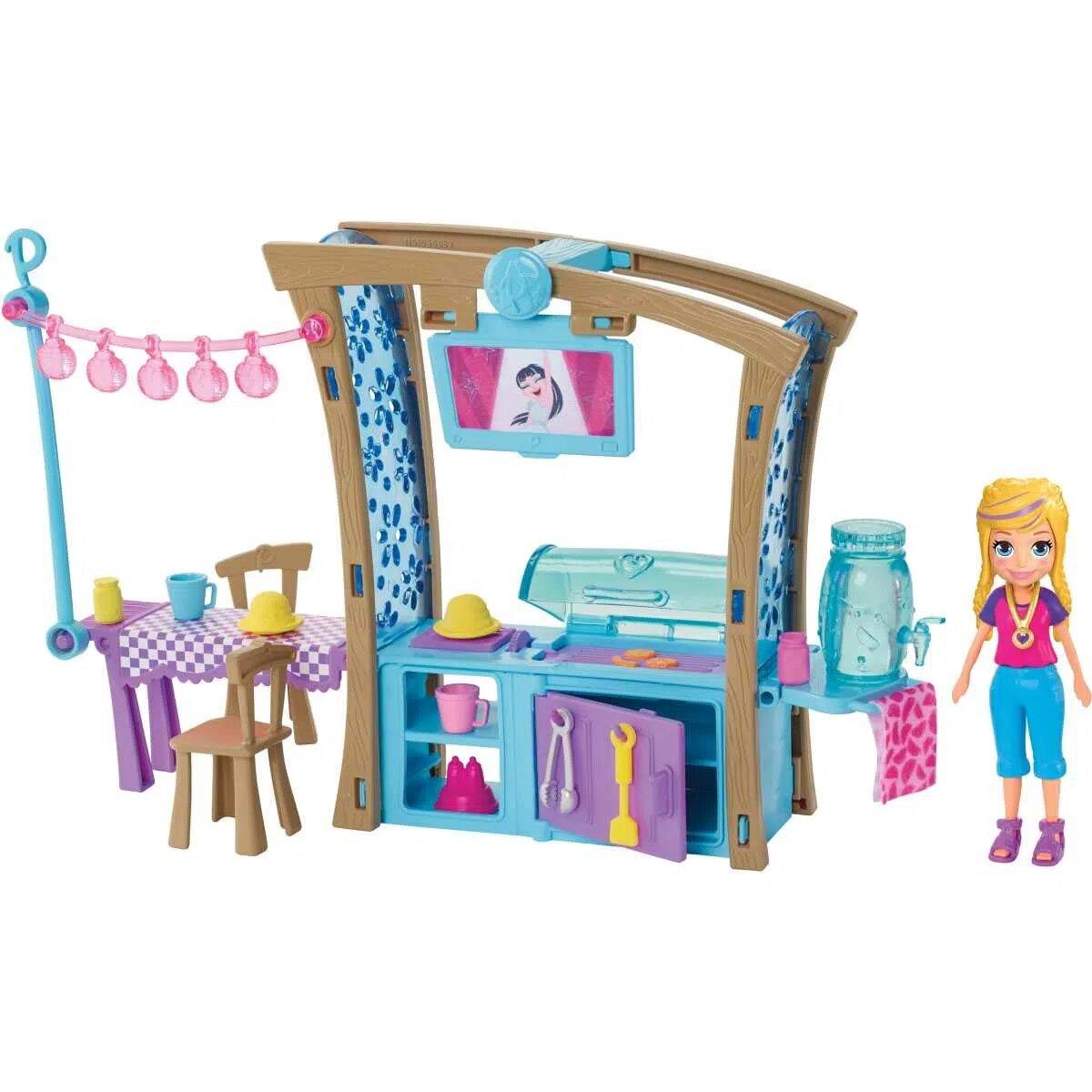 Polly Pocket Churrasco Divertido Com Acessórios Gdm17 Mattel