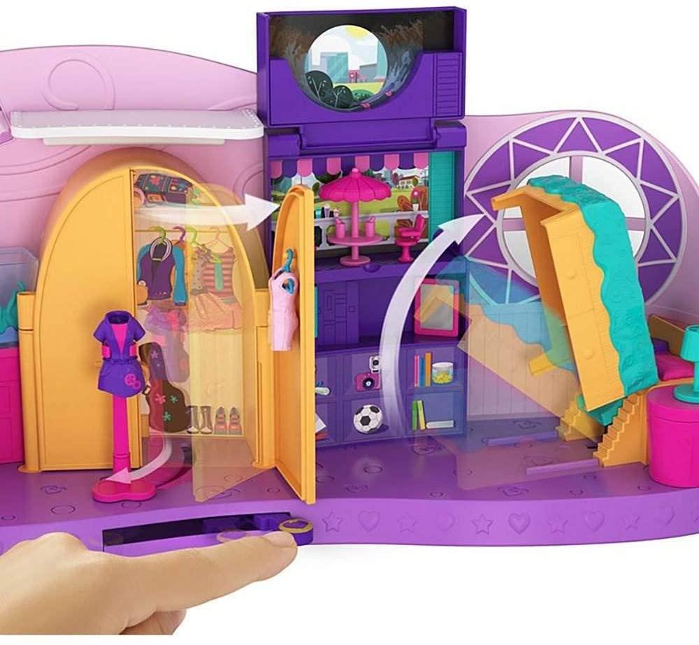 Polly Pocket O Quarto Divertido Da Boneca Polly-Mattel Fry98