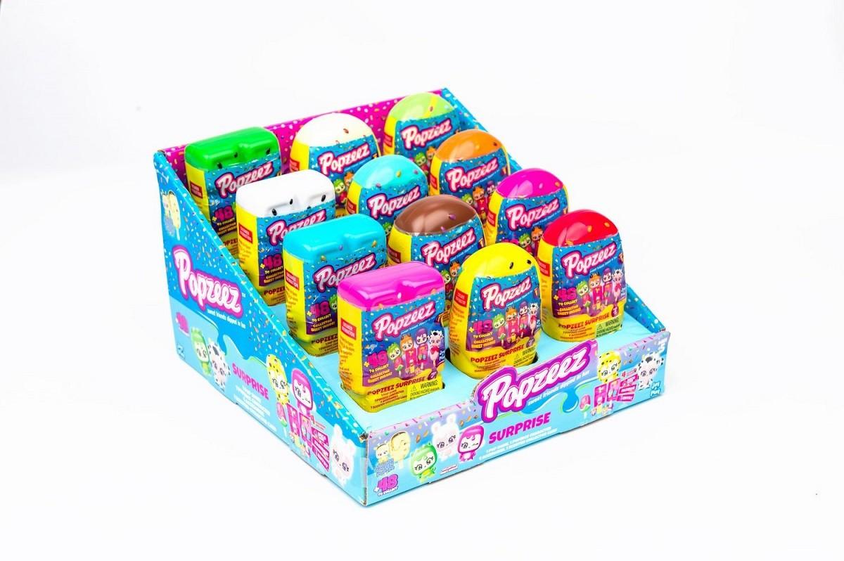 Popzeez Picolé Surpresa Miniatura Colecionável Sortido 9440
