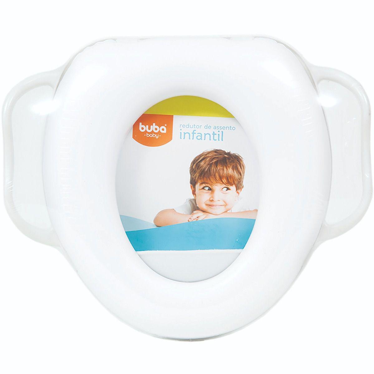 Redutor De Vaso Sanitario Almofadado Infantil Soft Com Alça