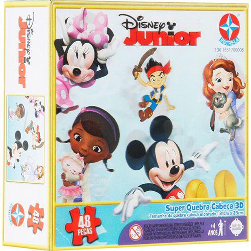 Super Quebra-Cabeça 3D Disney Junior - Estrela