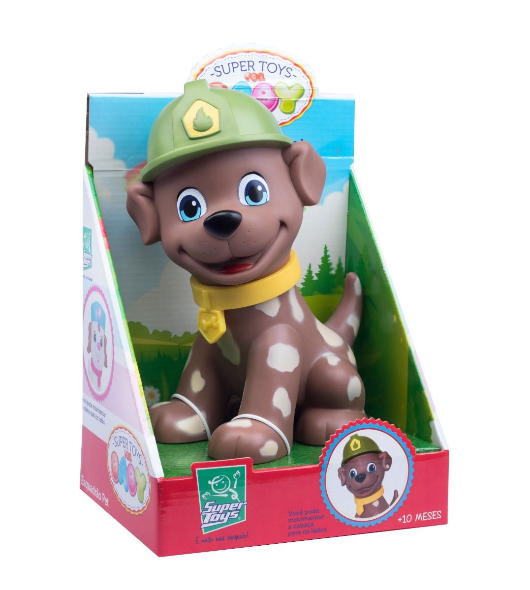SUPER TOYS FOR BABY ESQUADRAO PET - Super Toys