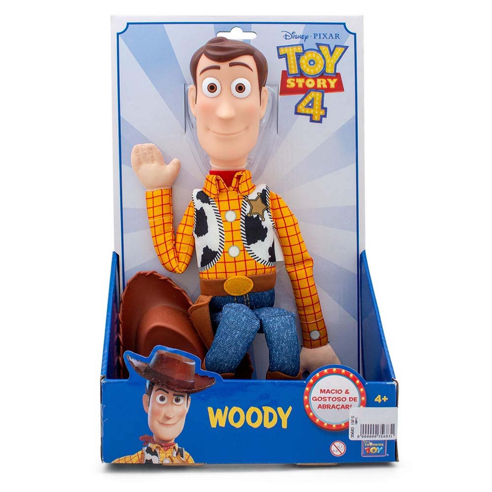 Toy Story Woody Boneco Xerife - Toyng