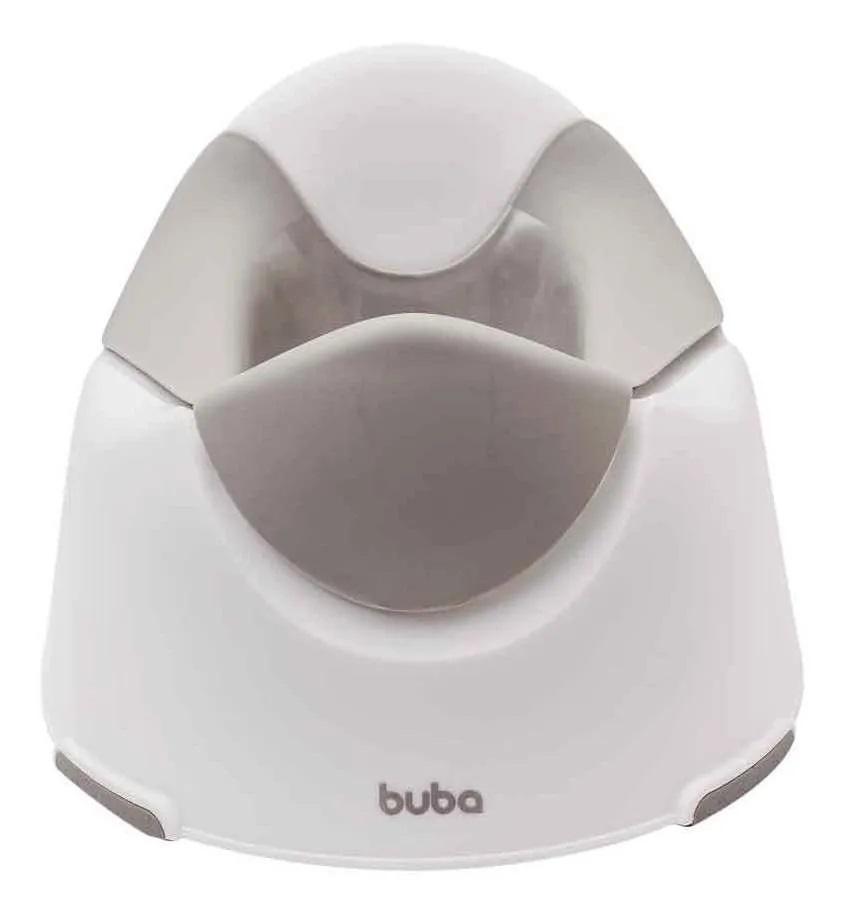 Troninho Penico Infantil Anatômico Portátil Cinza Baby Buba