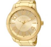 Relógio Condor Metal Dourado Pulseira Dourado Feminino CO2035KSN/4D