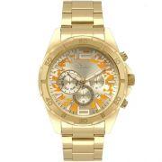 Relógio Condor C0JP25AA/4D Metálico Pulseira Dourado