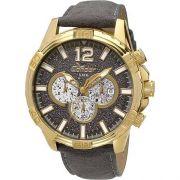 Relógio Condor COVD33AP/2P Dourado Pulseira Couro