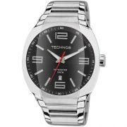 Relógio Tecnhos 2115GS/1P Aço Pulseira Aço