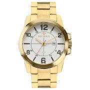 Relógio Tecnhos 211MGS/4K Dourado Pulseira Dourado