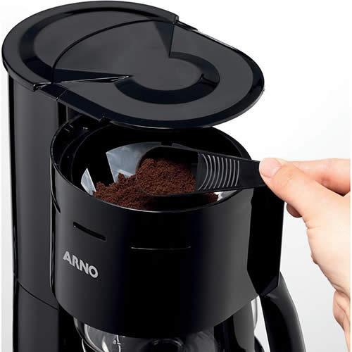 Cafeteira Arno CAFP Filtro Preto