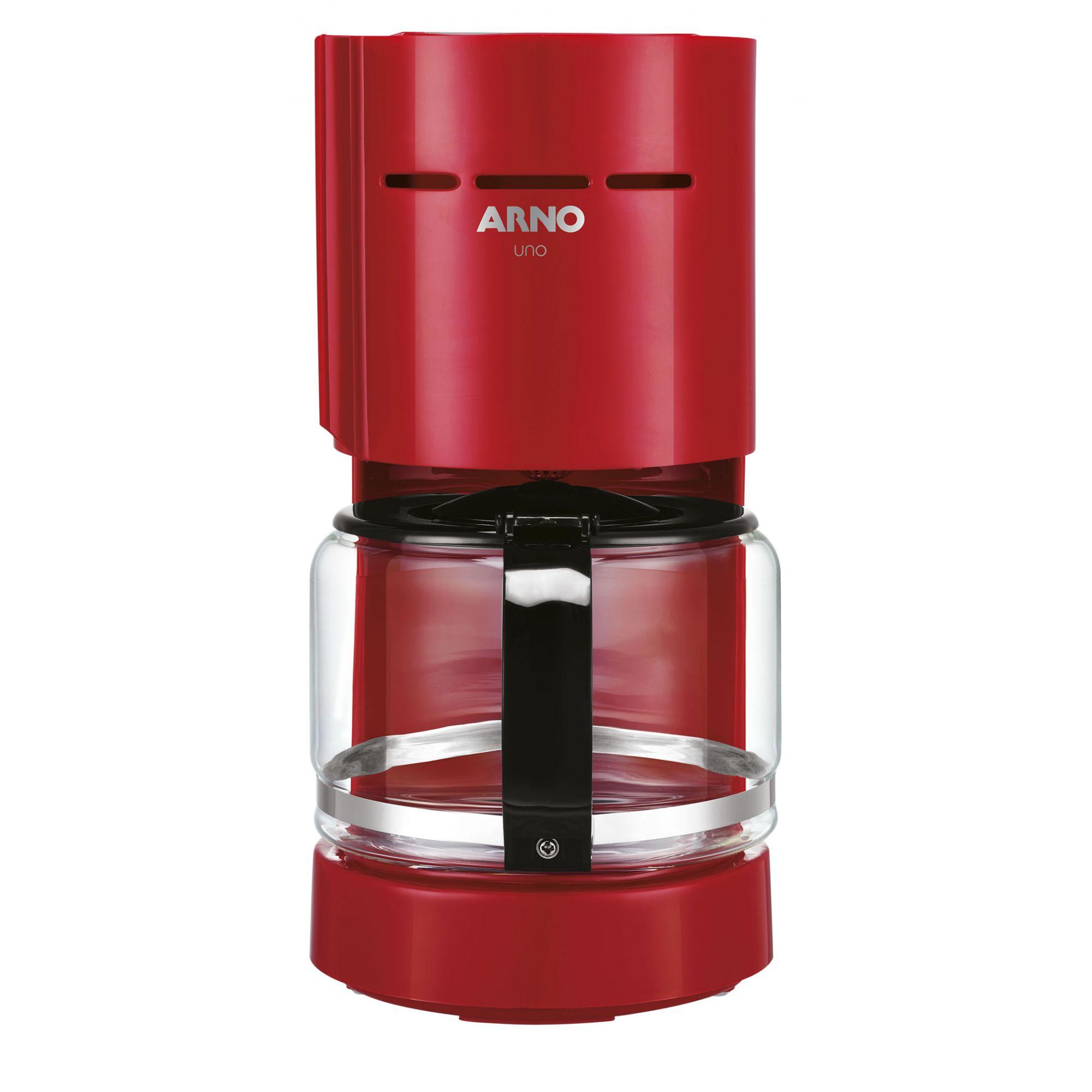 Cafeteira Arno Uno CF06 Vermelho