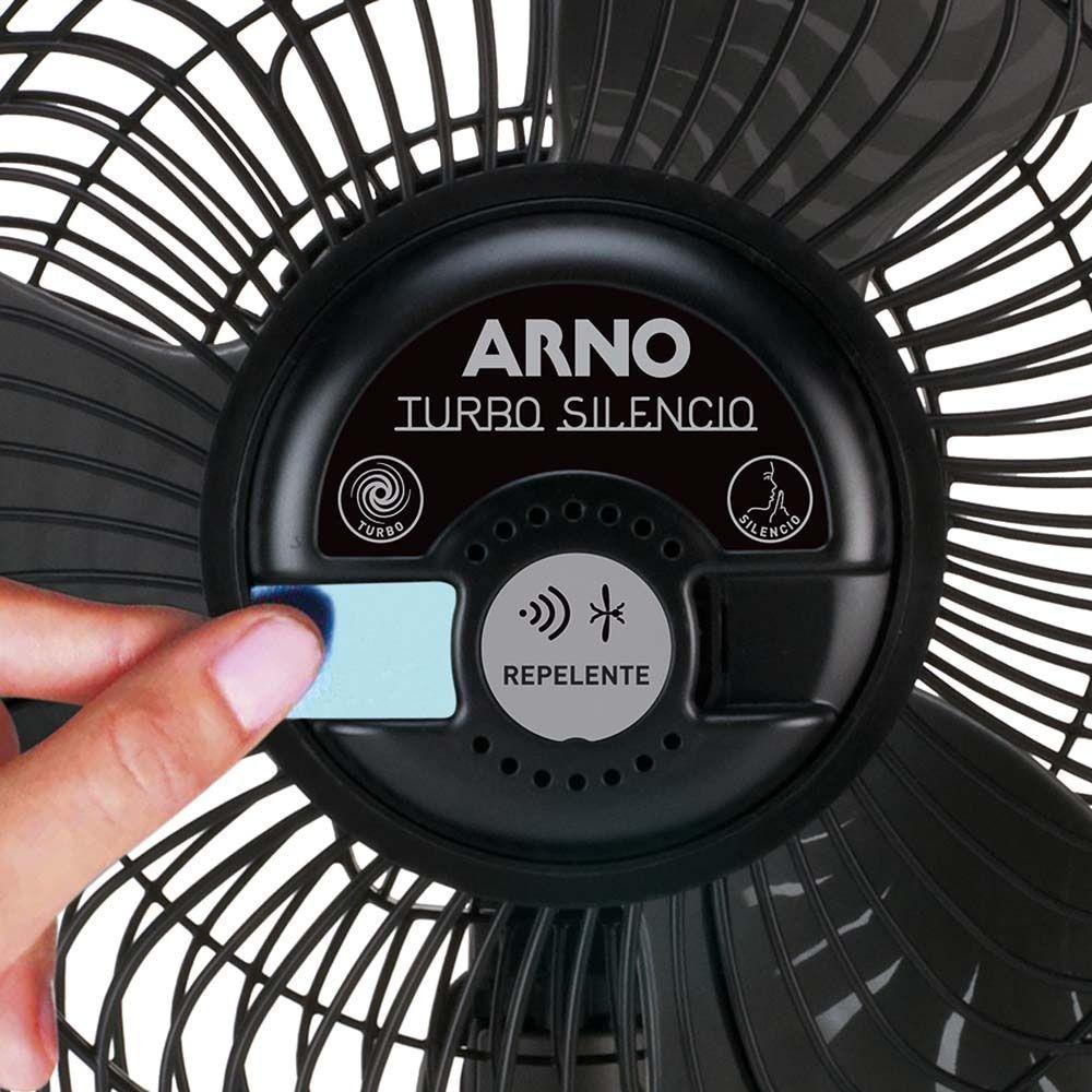 Circulador de Ar Arno C/Repelente CC95 Preto
