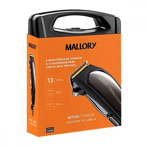 Cortador Cabelo Mallory Mithos Titanium