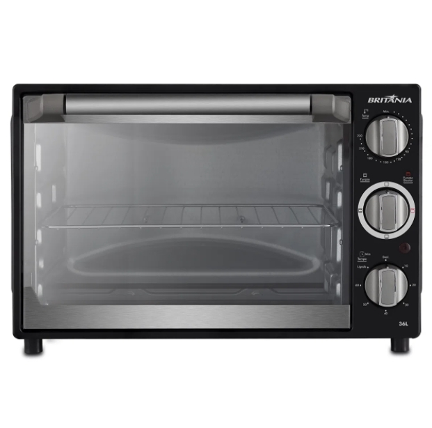 Forno Elétrico Britânia Preto 36L 220V BFE36P