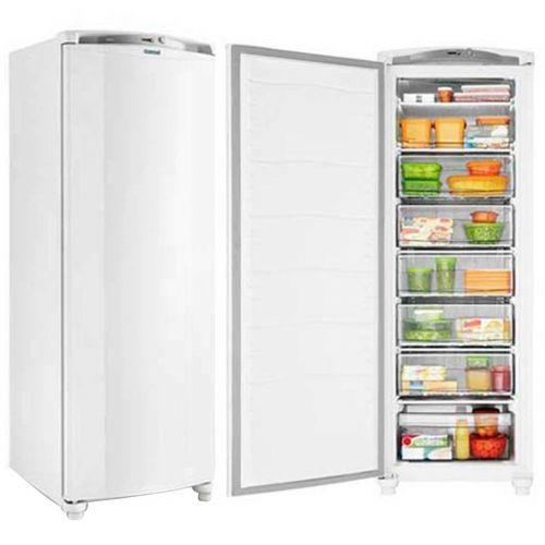 Freezer Vertical Consul 231L - CVU26  1 Porta Vertical Branco