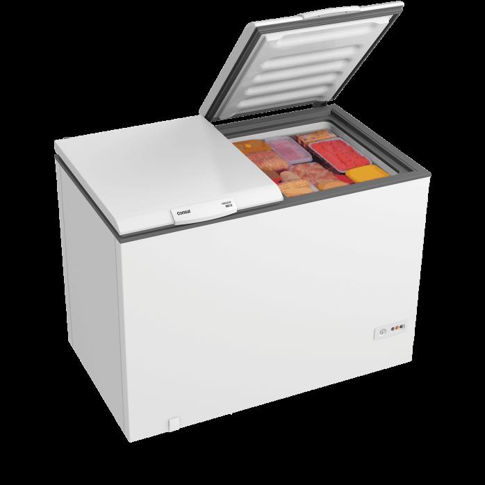 Freezer Consul 534 Litros CHB53 2 Portas Horizontal Branco