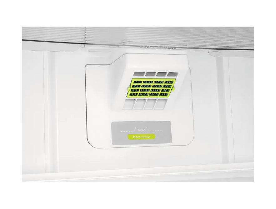 Geladeira Consul Frost Free Duplex 405 litros cor Inox com Filtro Bem Estar - 220V