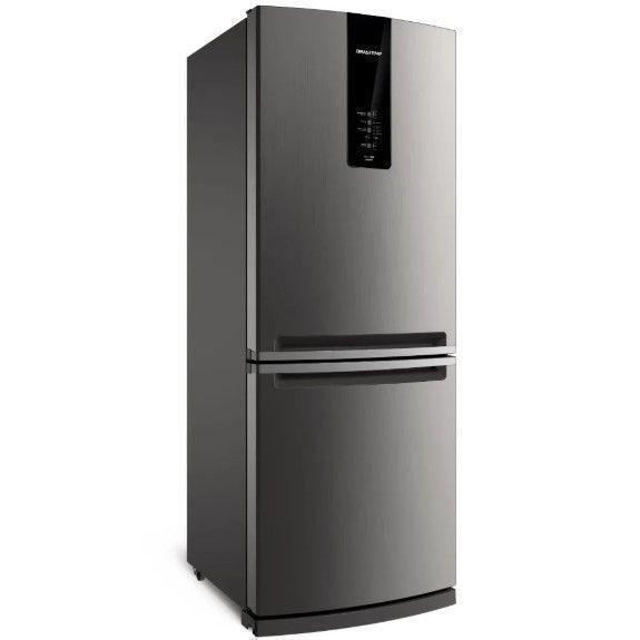 Geladeira/Refrigerador Brastemp 460L BRE59 2 Portas Inox