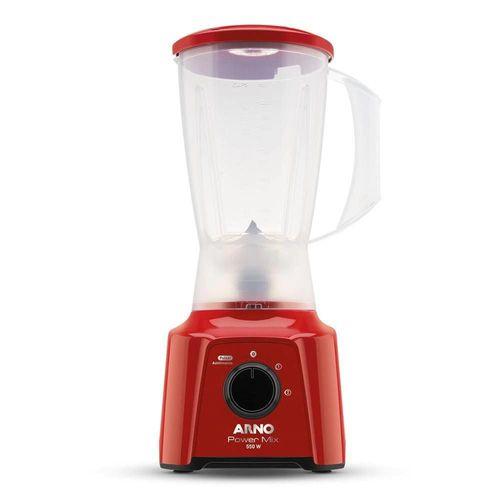 Liquidificador Arno LQ11 550W 2 Velocidade Power Mix Vermelho