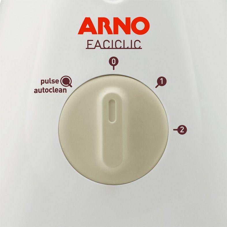 LIQUIDIFICADOR ARNO LN31 500W FACICLIC C/ FILTRO BCO