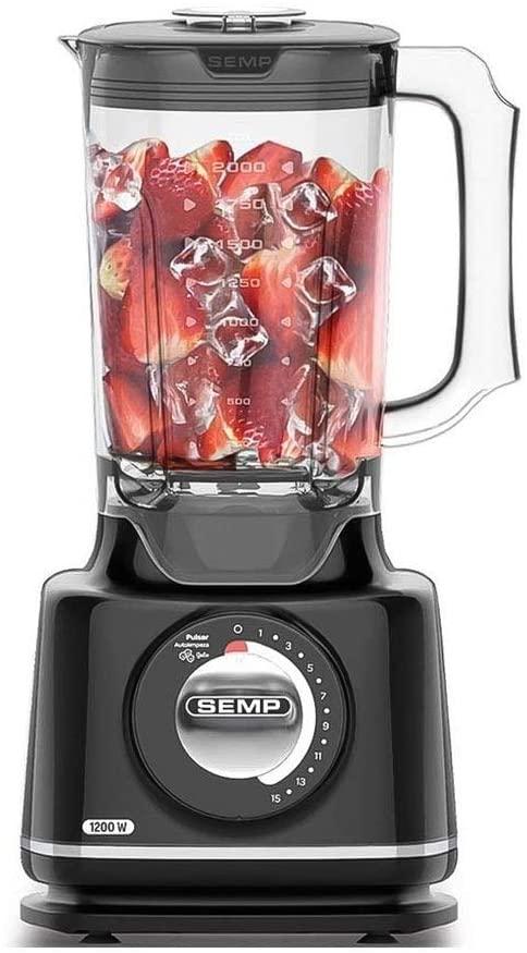 Liquidificador  Semp Easy Ll6019 3L Preto - 15 Velocidade 1200W