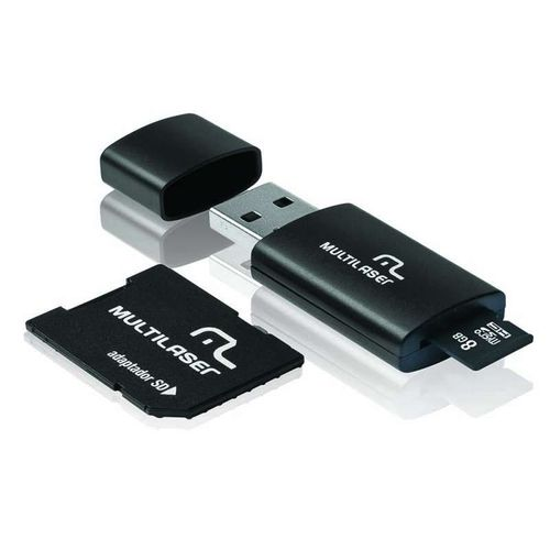 PEN DRIVE MULTILASER MC058 KIT 3X1 8GB
