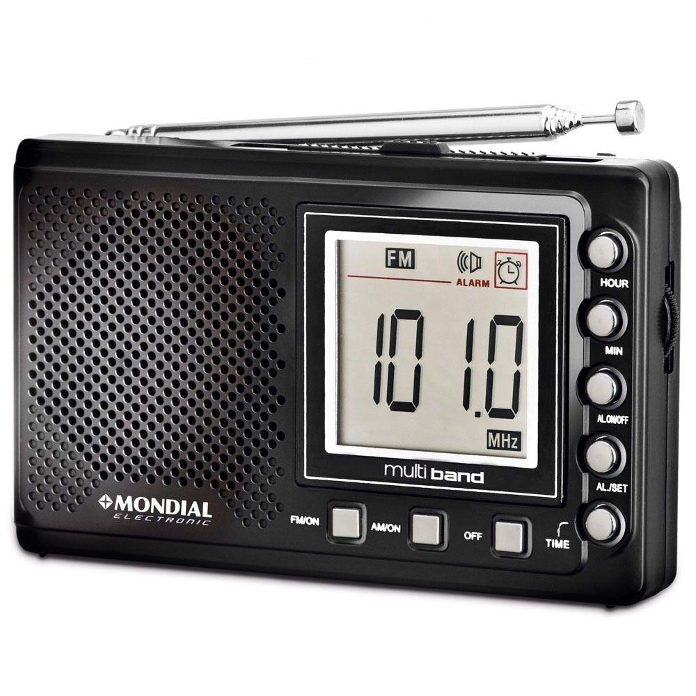 RADIO MONDIAL RP-03 PORTATIL 4 FAIXAS