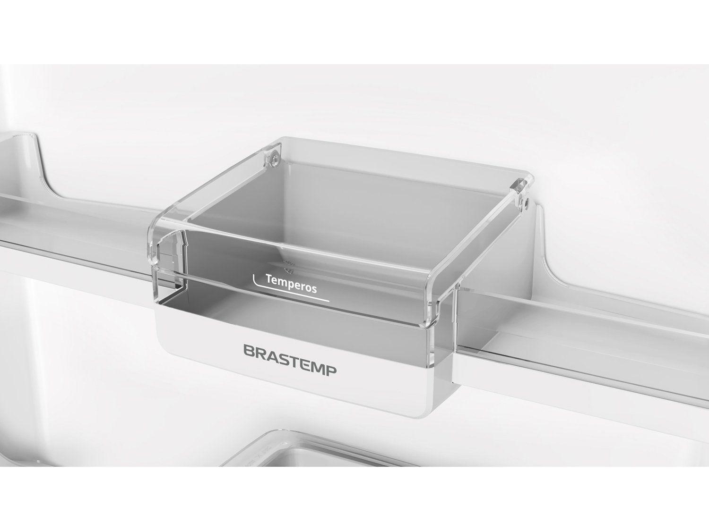 REFRIGERADOR BRASTEMP 375L BRM45 2P INOX
