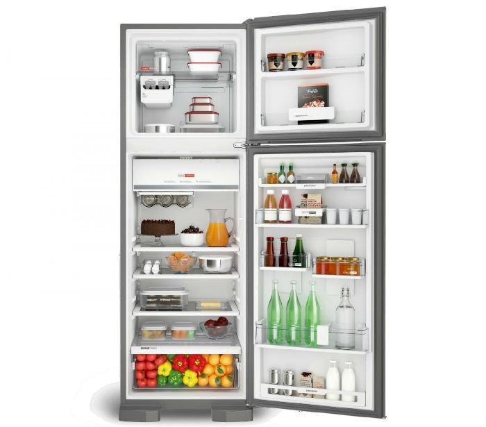 Refrigerador Brastemp 400l BRM54 2 portas Inox