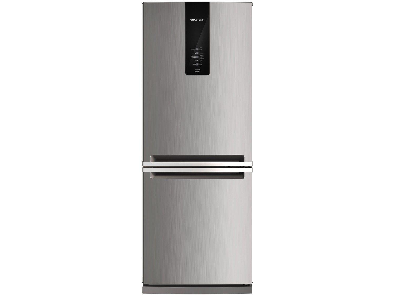 Refrigerador Brastemp 443 Litros BRE57 2 Portas Inox
