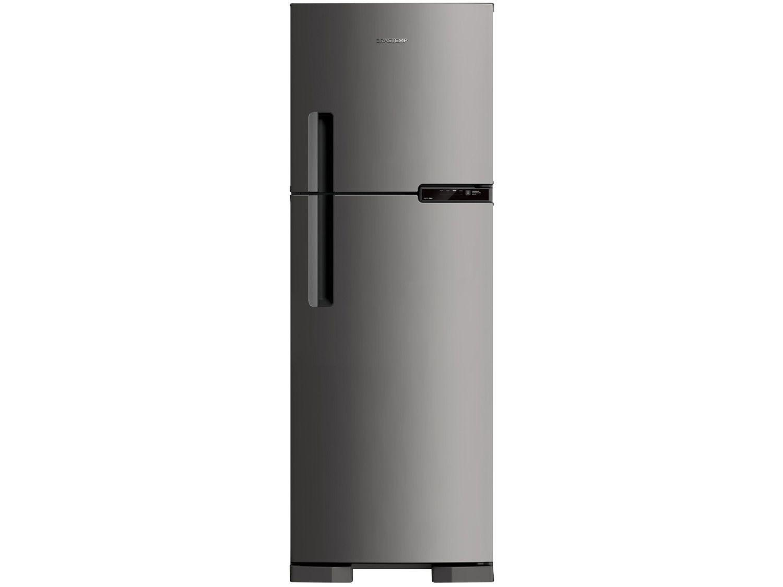 Refrigerador Brastemp 375 Litros BRM44 2 Portas  Inox