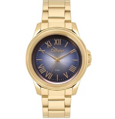 Relógio Condor CO2039AZ/4A Dourado Pulseira Dourado