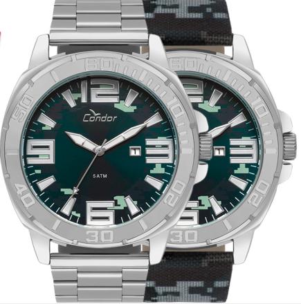 Relógio Condor CO2115KUA/T3A Aço Pulseira Aço
