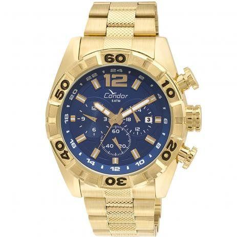 Relógio Condor COVD33AI/4A Dourado Pulseira Dourado