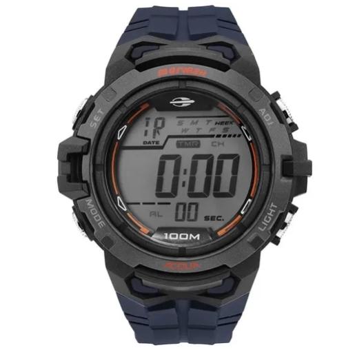 Relógio Mormaii Masculino MO1147A/8A Plástico Pulseira Plásticos Digital
