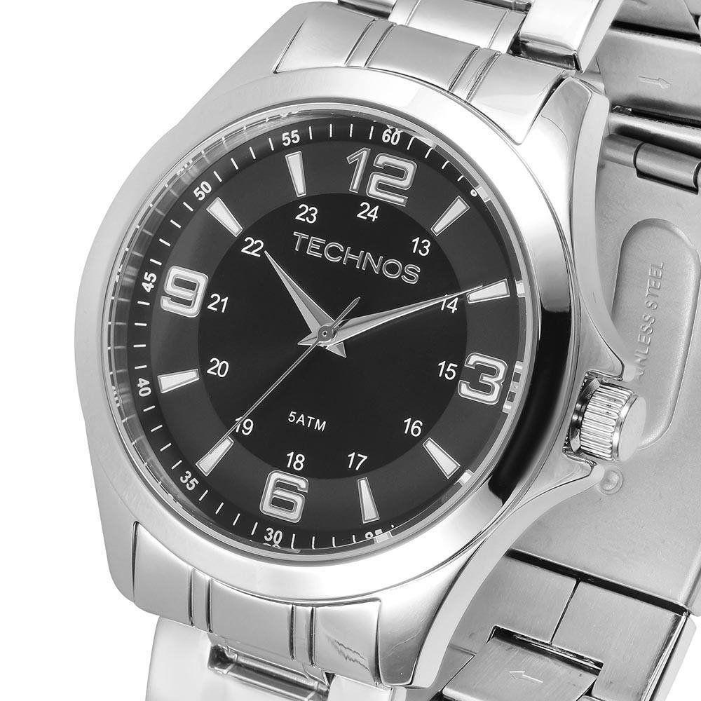 Relógio Technos 2035MDD/1C Aço Pulseira Aço