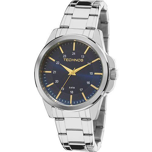 Relógio Tecnhos 2035MDF/1A Aço Pulseira Aço