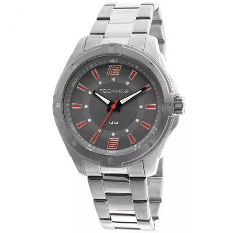 Relógio Tecnhos 2036LOD/1R Aço Pulseira Aço