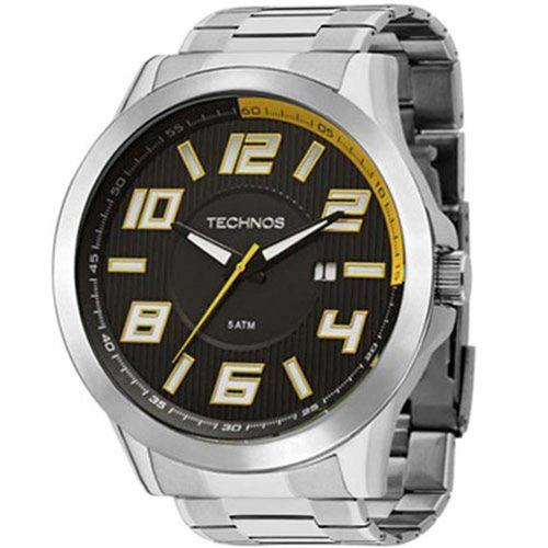Relógio Technos 2115KNE/1Y Aço Pulseira Aço