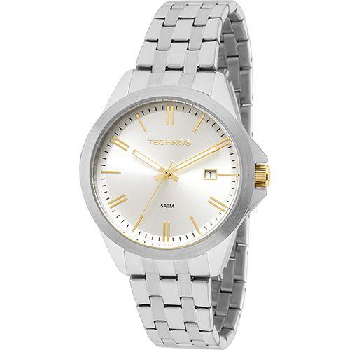 Relógio Technos 2115KRY/1K Metálico Pulseira Açio