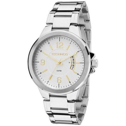 Relógio Tecnhos 2115KSK/1C Aço Pulseira Aço