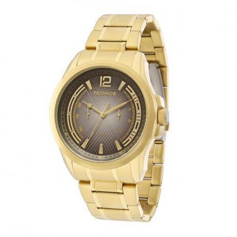 Relógio Tecnhos 6P25AY/4C Dourado Pulseira Dourado