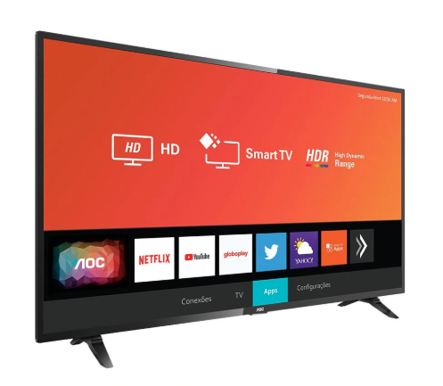 """Tv Aoc 32"""" Led 32S5295/78G Smart"""