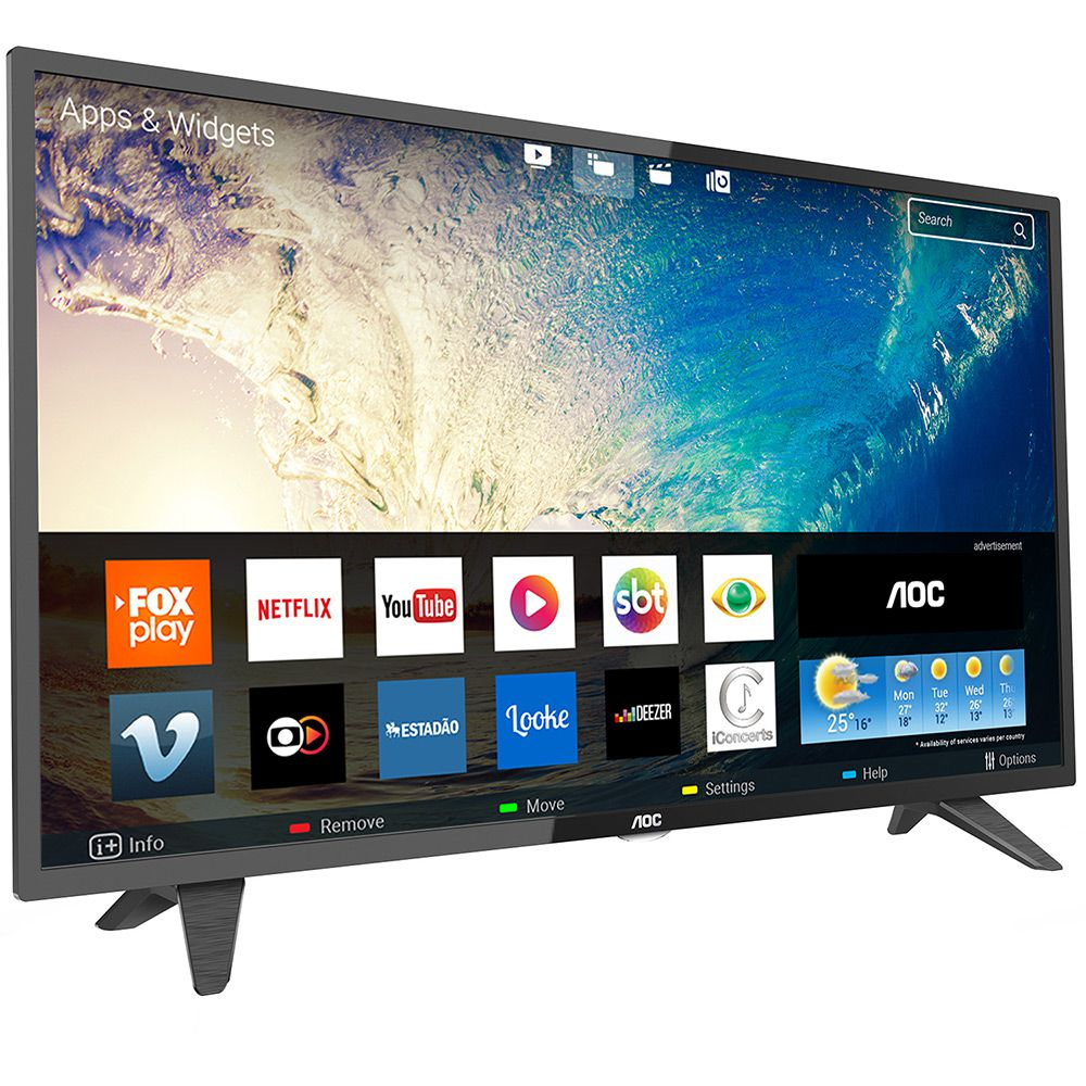 """TV AOC 39"""" LED LE39S5970 SMART"""