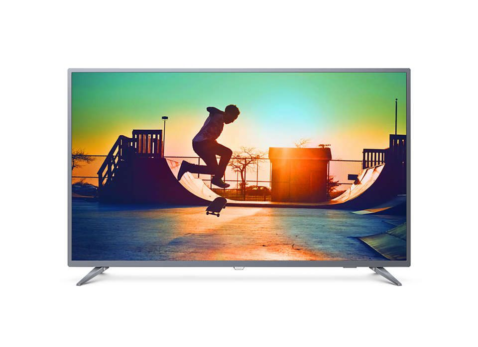 "TV PHILIPS 55"" LED 4K 55PUG6513/78 SMART"