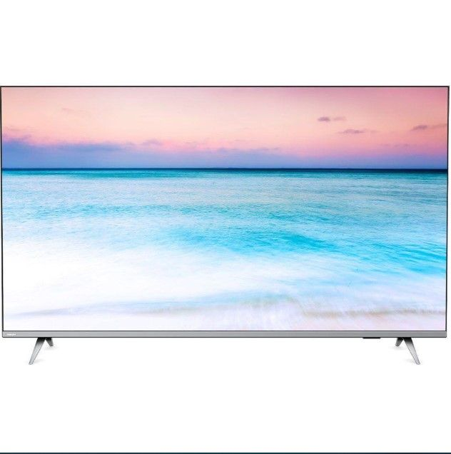 TV PHILIPS 55'' LED 4K 55PUG6654/78 SMART - Wi-Fi Bluetooth HDR - 3 HDMI - 2 USB - Bordas  Ultrafinas