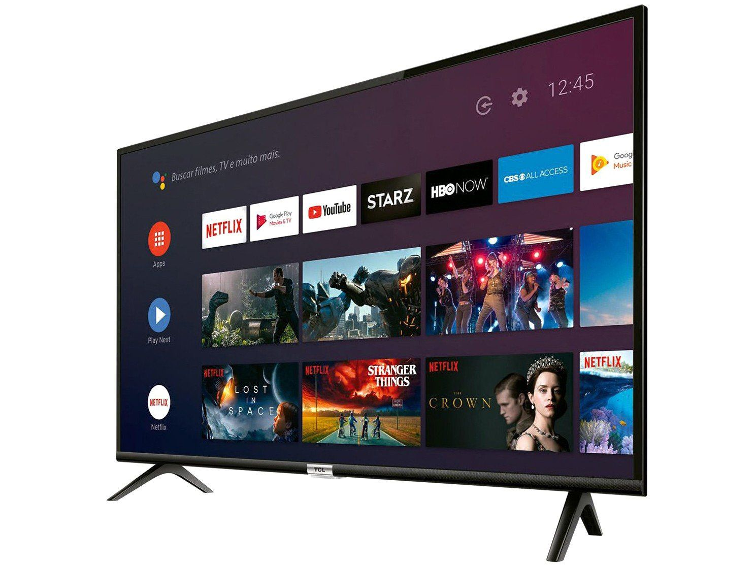 """TV SEMP TOSHIBA TCL 40"""" SMART ANDROID HD"""