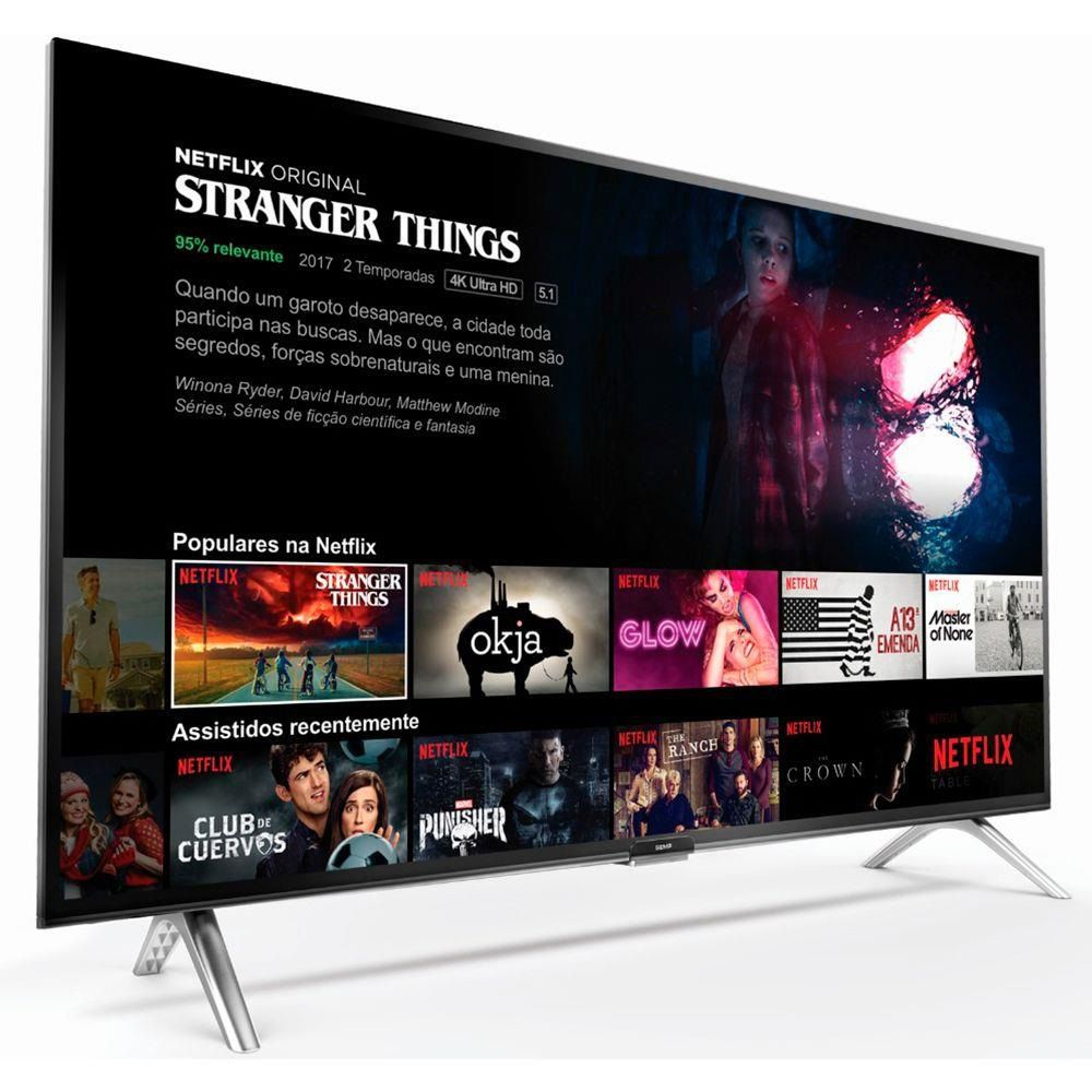 """TV SEMP TOSHIBA TCL 43"""" SMART ANDROID FULL HD"""