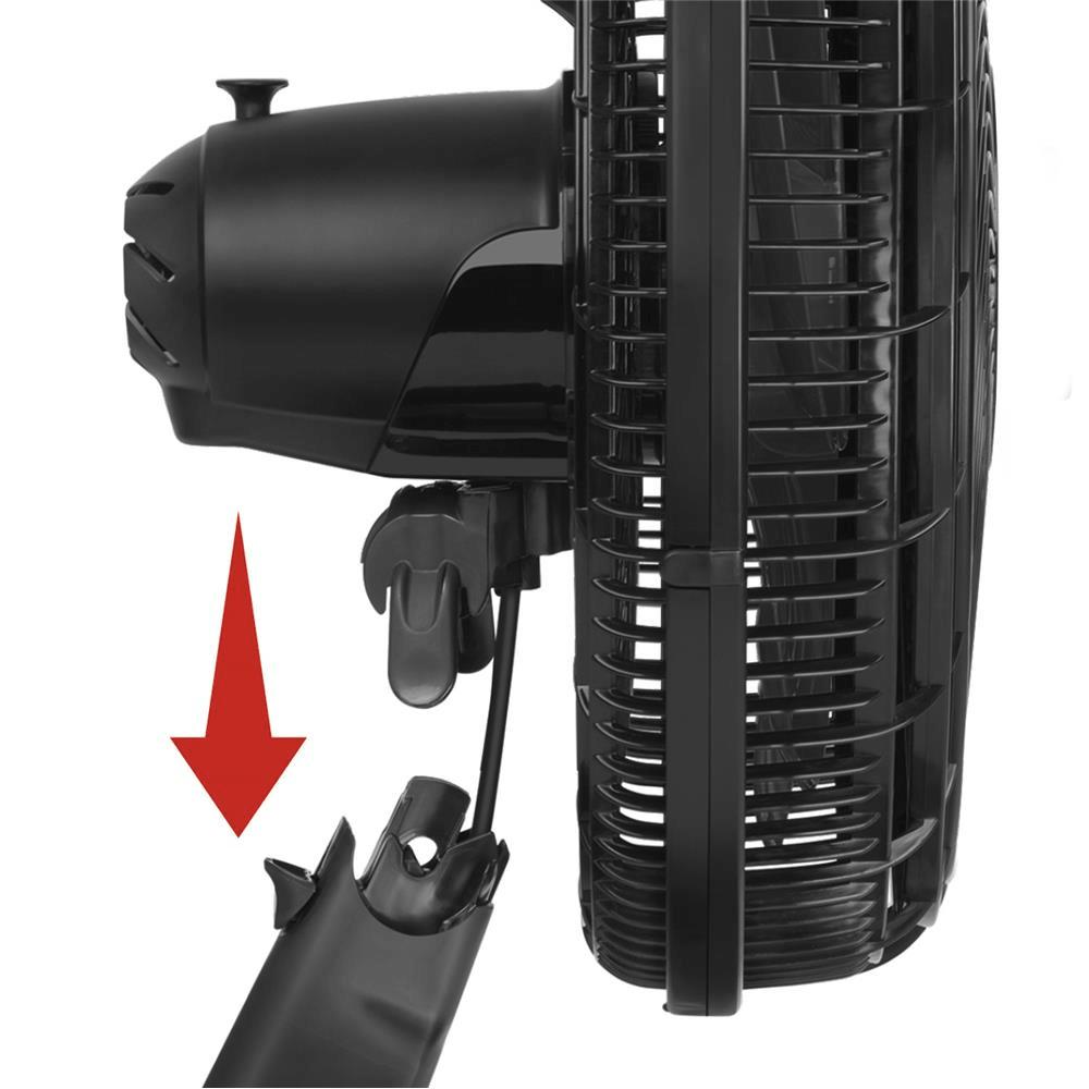 Ventilador Arno Silve Force VF41 - 6P 40cm Preto