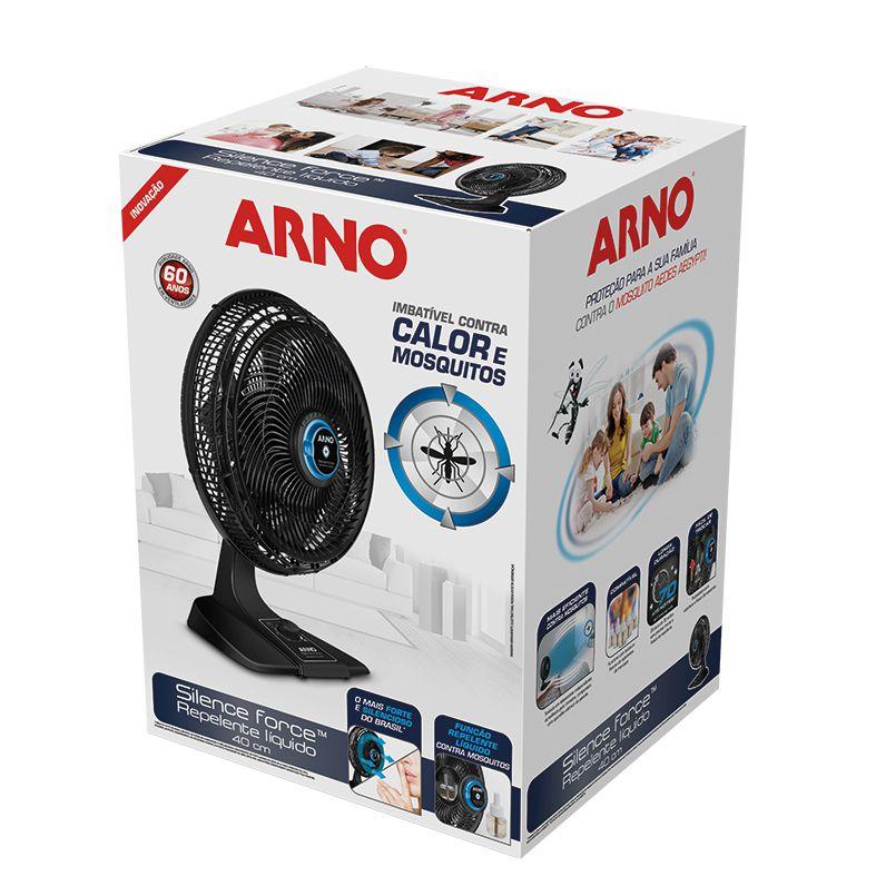 Ventilador Arno Silencie Force VF55-6P 40cm c/Repelente